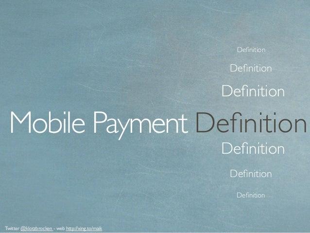Mobile Payment 2015 Deutschland Slide 3