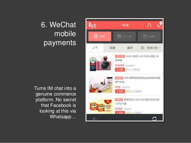 Mobile Payments In 32 Products