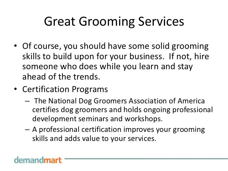 Starting A Mobile Pet Grooming Business