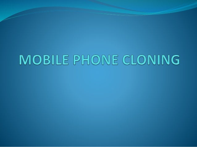 INDEX  INTRODUCTION  IMPORTANT TERMS  HOW A PHONE CLONED?  METHODS TO DETECT CLONED PHONES  IMPACT OF CLONING  HOW T...
