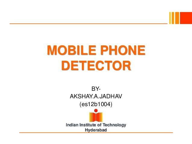 mobile bug detector project report pdf