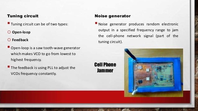 Cell phone frequency blocker , cell phone network blocker