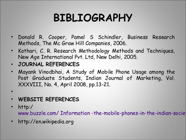 reference of mobile phones