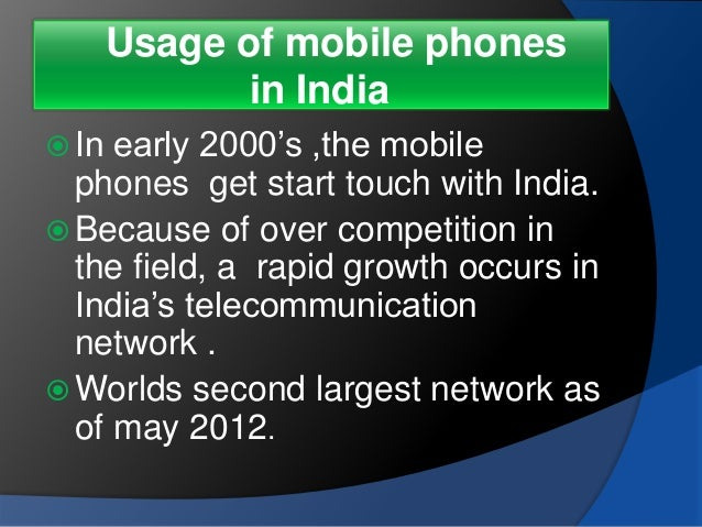 Effects of Mobile Phones on Students