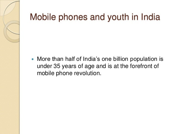 mobile phone addiction among youth