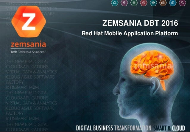 ZEMSANIA DBT 2016 Red Hat Mobile Application Platform