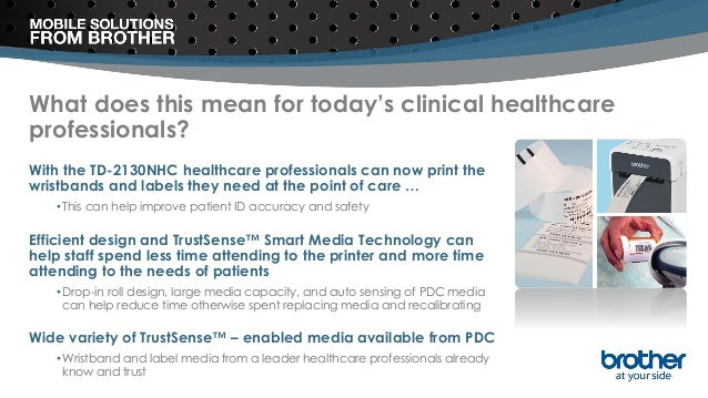 What does this mean for today's clinical healthcare professionals? With the TD-2130NHC healthcare professionals can now pr...