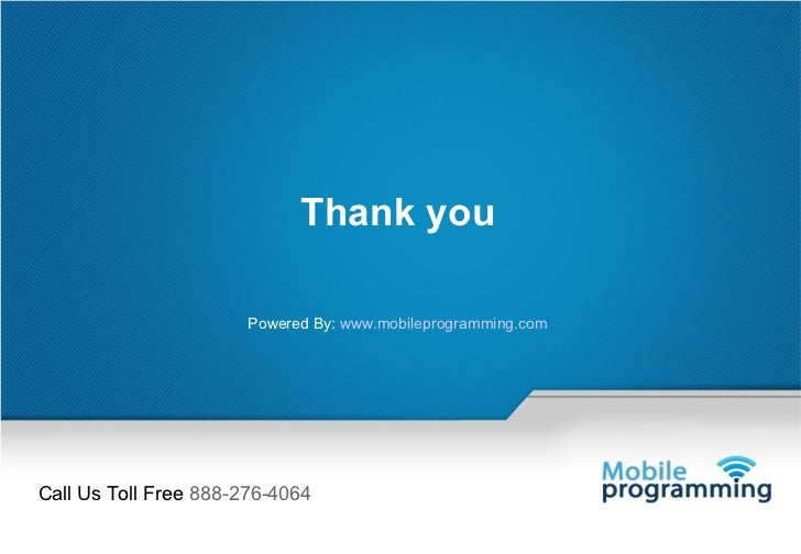 Mobile programming services for 11 east broadway 13th floor new york ny 10038
