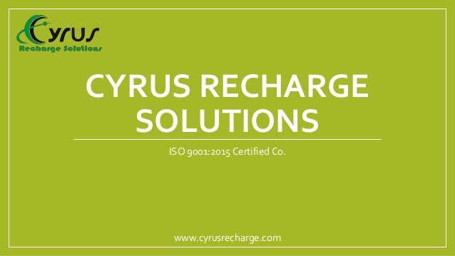 Mobile Recharge Software Company - Cyrus Recharge