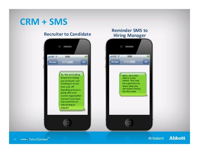 CRM  +  SMS   Recruiter  to  Candidate    Jia,  We  are  looking   forward  to  having   you  ...