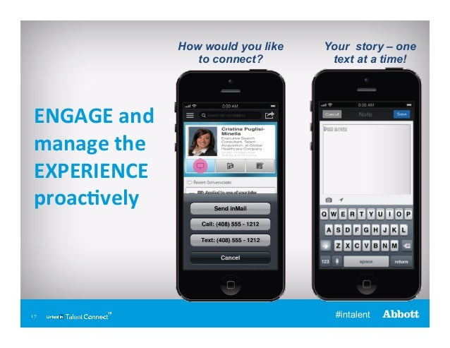 How would you like to connect?  Your story – one text at a time!  ENGAGE  and   manage  the   EXPERIENCE   proac...