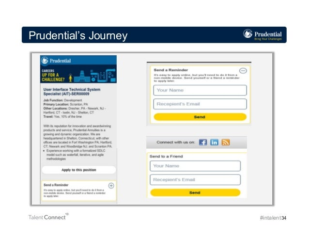 Prudential's Journey  #intalent 34