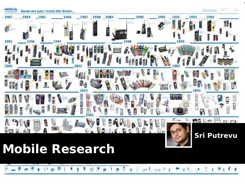 Sri Putrevu  Mobile Research