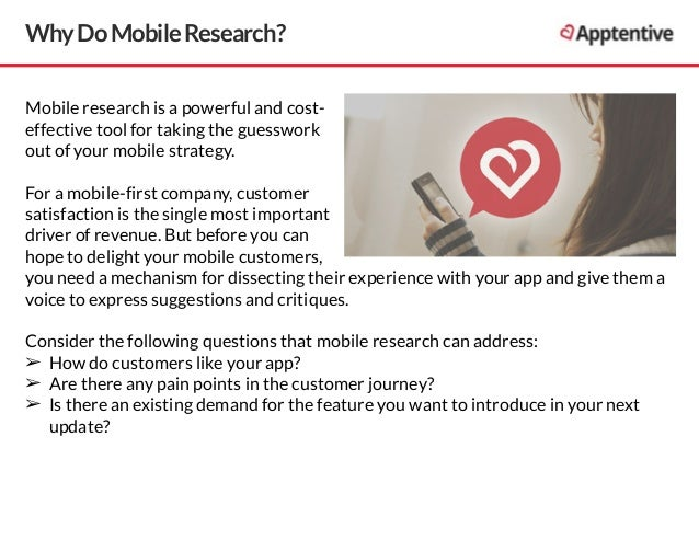 Mobile research best practices Slide 2