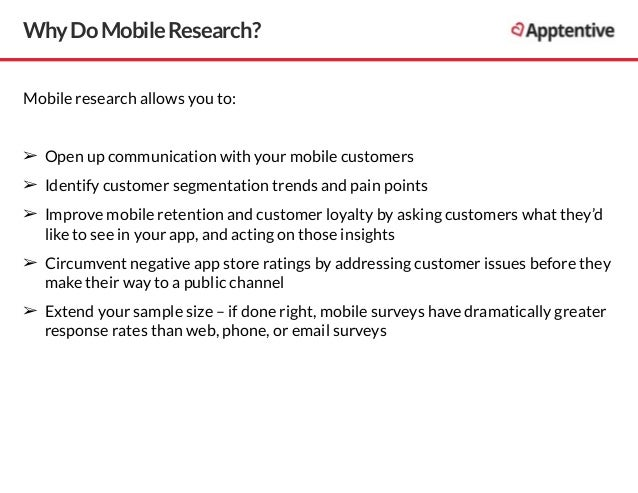 Mobile research best practices Slide 3