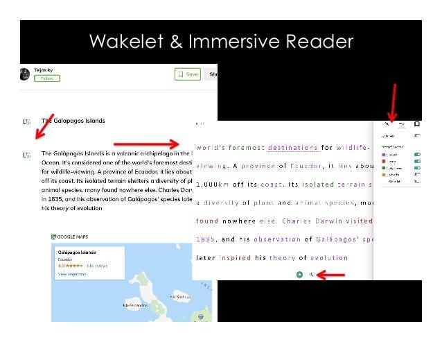 Wakelet & Immersive Reader
