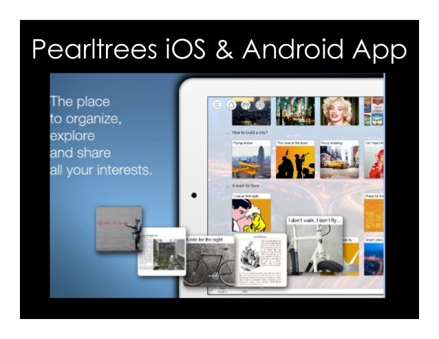 Pearltrees iOS & Android App