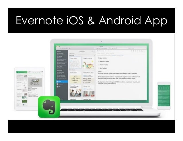 Evernote iOS & Android App