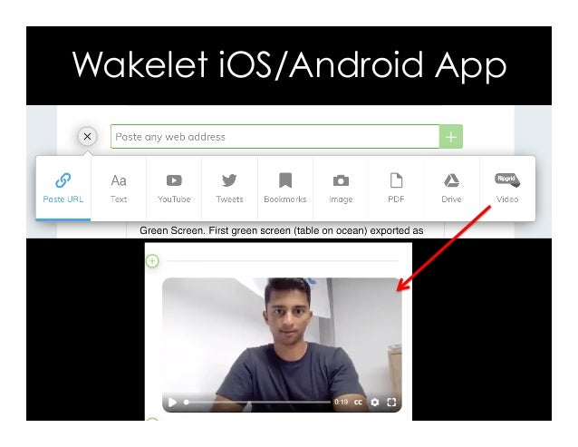 Wakelet iOS/Android App