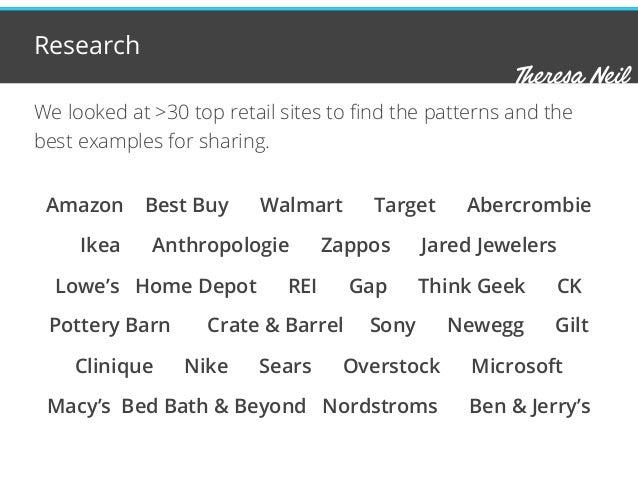 Navigation Patterns for Mobile Optimized Retail Sites Slide 2