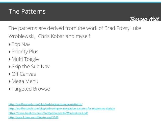 Navigation Patterns for Mobile Optimized Retail Sites Slide 3