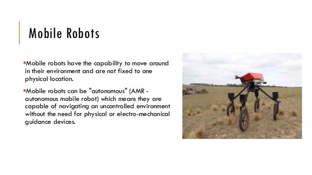 Mobile Robot For Agriculture Farming