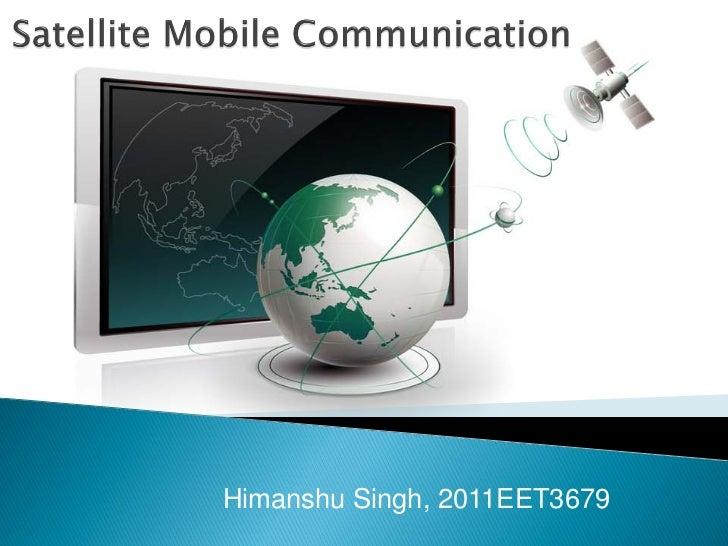 Himanshu Singh, 2011EET3679