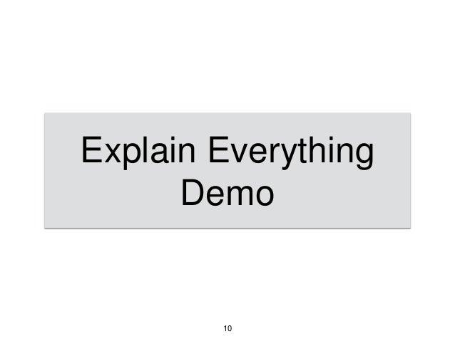 Explain Everything Demo 10