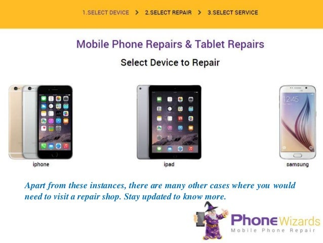 Cell Phone Repair Cost - Price List