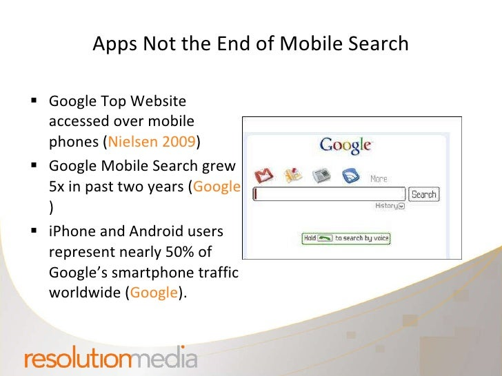 Mobile Search App Opportunities For Marketers Smx West Slide 3