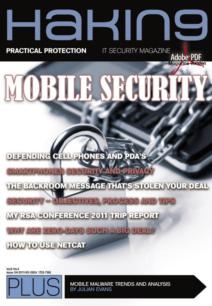 04/2011 (40)    PRACTICAL PROTECTION                       IT SECURITY MAGAZINE                                           ...