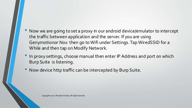 Mobile security part 1(Android Apps Pentesting)- Romansh yadav