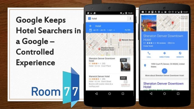 Google Keeps Hotel Searchers in a Google – Controlled Experience