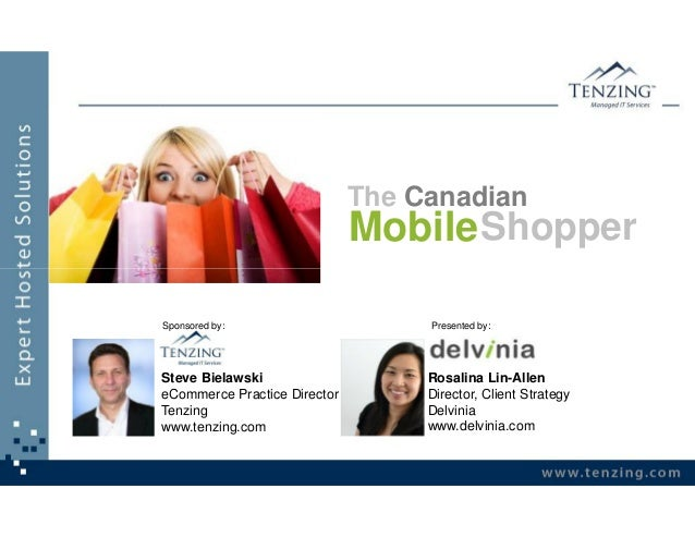 The Canadian                              Mobile ShopperSponsored by:                      Presented by:Steve Bielawski   ...