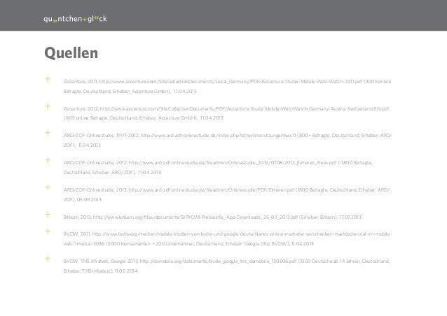 30  Quellen ++  Accenture, 2011, http://www.accenture.com/SiteCollectionDocuments/Local_Germany/PDF/Accenture-Studie-Mobil...
