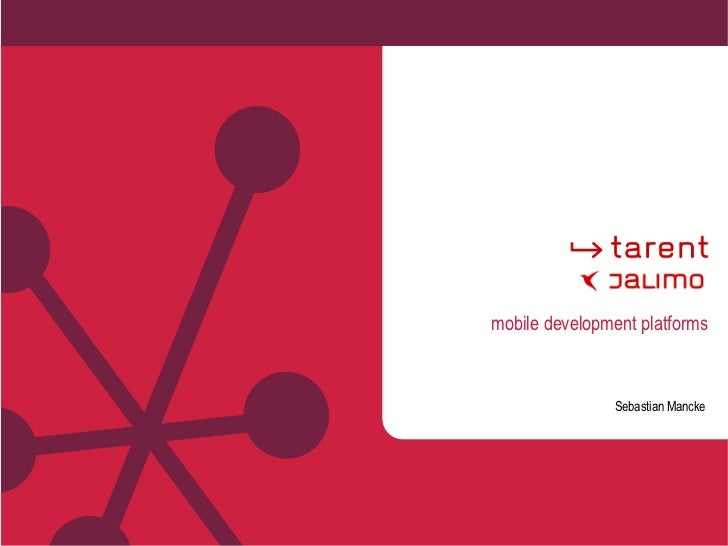 mobile development platforms