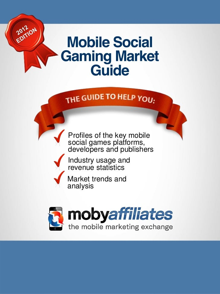 Profiles of the key mobilesocial games platforms,developers and publishersIndustry usage andrevenue statisticsMarket trend...