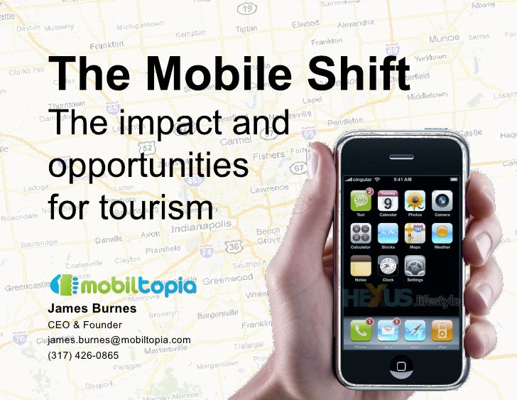 Mobile strategies for the tourism industry