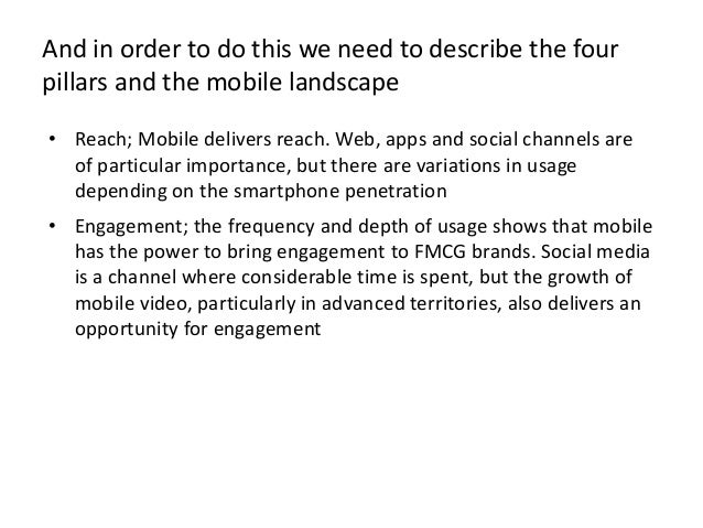 FCMG mobile strategy