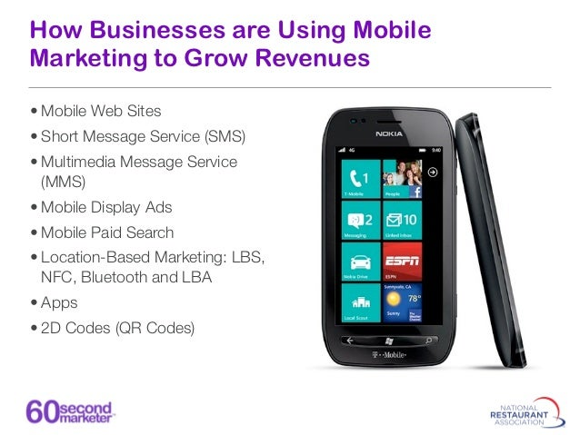 How Businesses are Using Mobile Marketing to Grow Revenues            Google             RIM             Apple    Microsof...