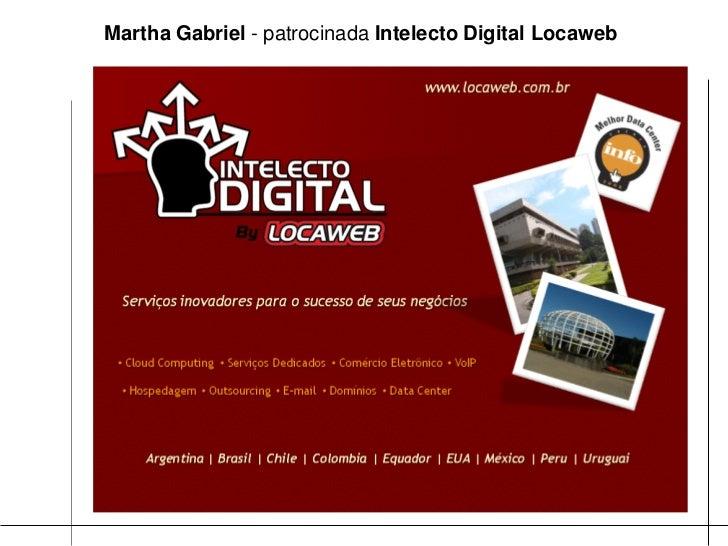 QR codes & Realidade Aumentada, por Martha Gabriel Slide 3