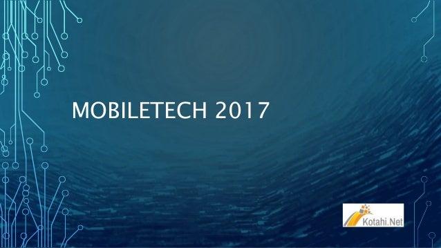 MOBILETECH 2017
