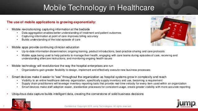 the use of mobile technology in Integrating technology is an important but daunting task for some providers  by  the end of 2017, the use of mobile in healthcare as well as the.