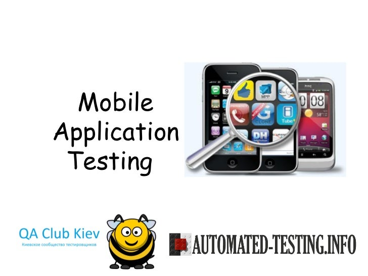 MobileApplication Testing
