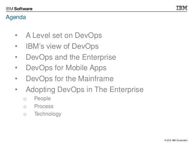 Mobile to Mainframe - the Challenges of Enterprise DevOps Adoption Slide 3