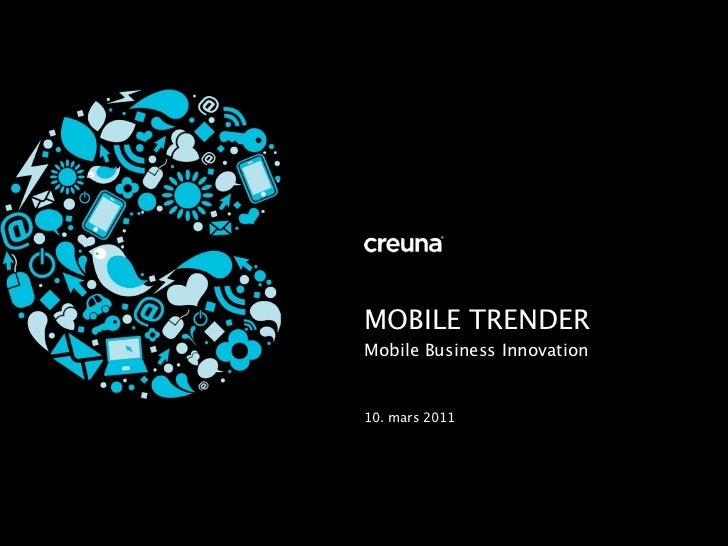MOBILE TRENDERMobile Business Innovation10. mars 2011