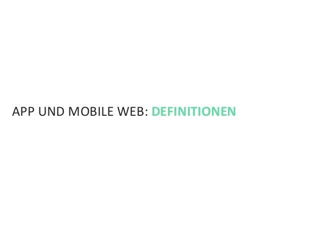 Mobile Facts 2013: Apps & Websites Slide 3