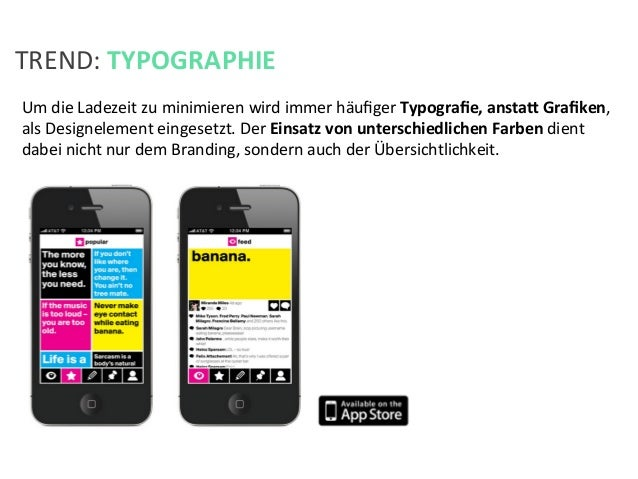 Um die Ladezeit zu minimieren wird immer häufiger Typografie, anstah Grafiken, als Designelement ei...