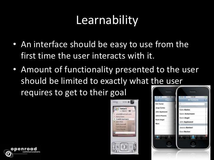 Interaction Design Principles<br />