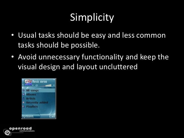 Memorability<br />Interface should be easier to use each time the user interacts with it. <br />Frequency of use is the ke...